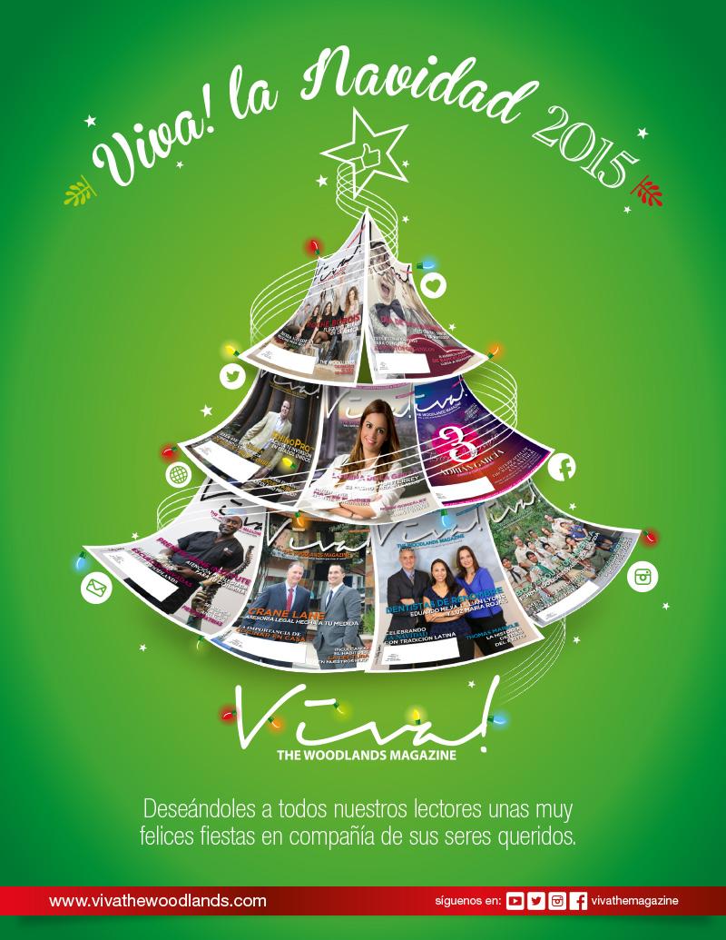 VIVA! LA NAVIDAD 2015 - Viva! The Woodlands Magazine
