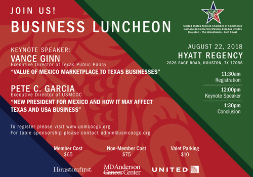 Join Us! BUSINESS LUNCHEON