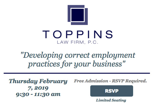 """Developing correct employment practices for your business\"""