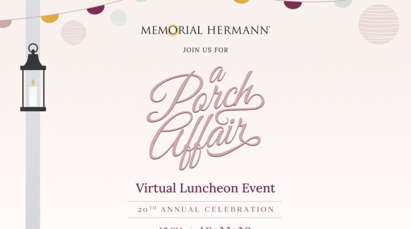 In The Pink of Health: Virtual Luncheon Event